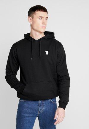 TOAST - Jersey con capucha - black