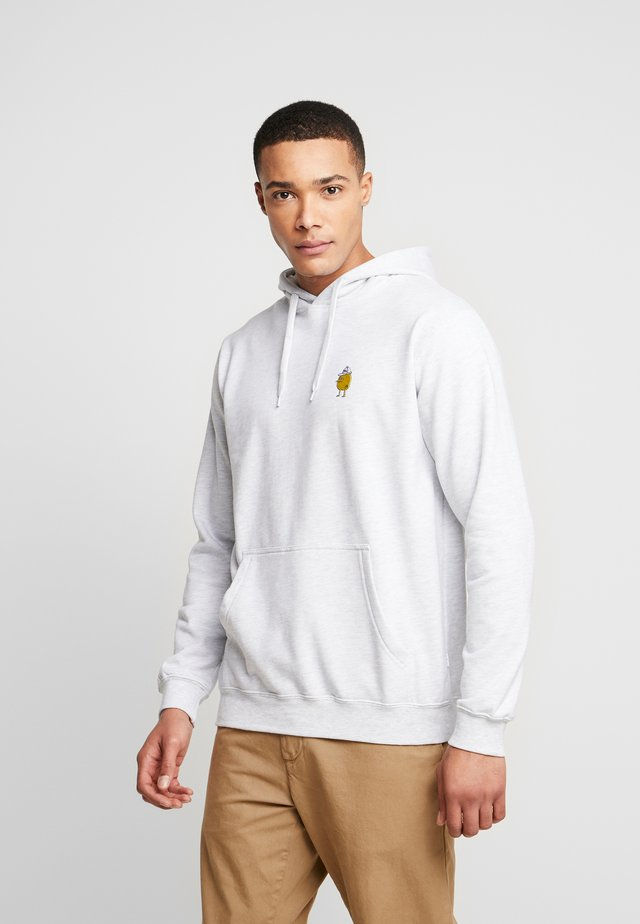 ZITRONE - Hoodie - light heather gray