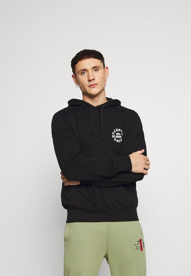 CLEPTO CLUB - Jersey con capucha - black