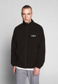 Cleptomanicx - TRACK - Summer jacket - black - 0