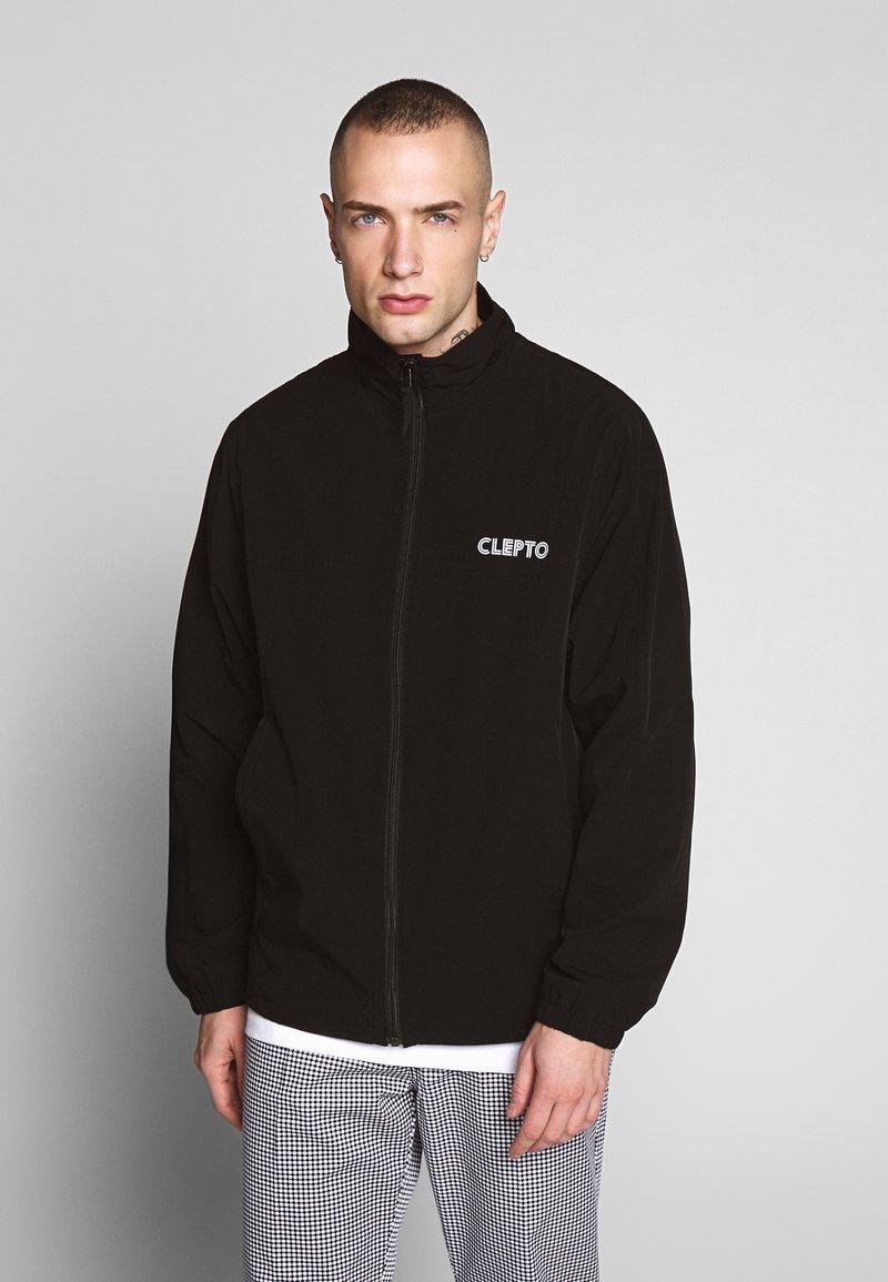 Cleptomanicx - TRACK - Summer jacket - black