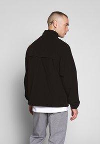 Cleptomanicx - TRACK - Summer jacket - black - 2