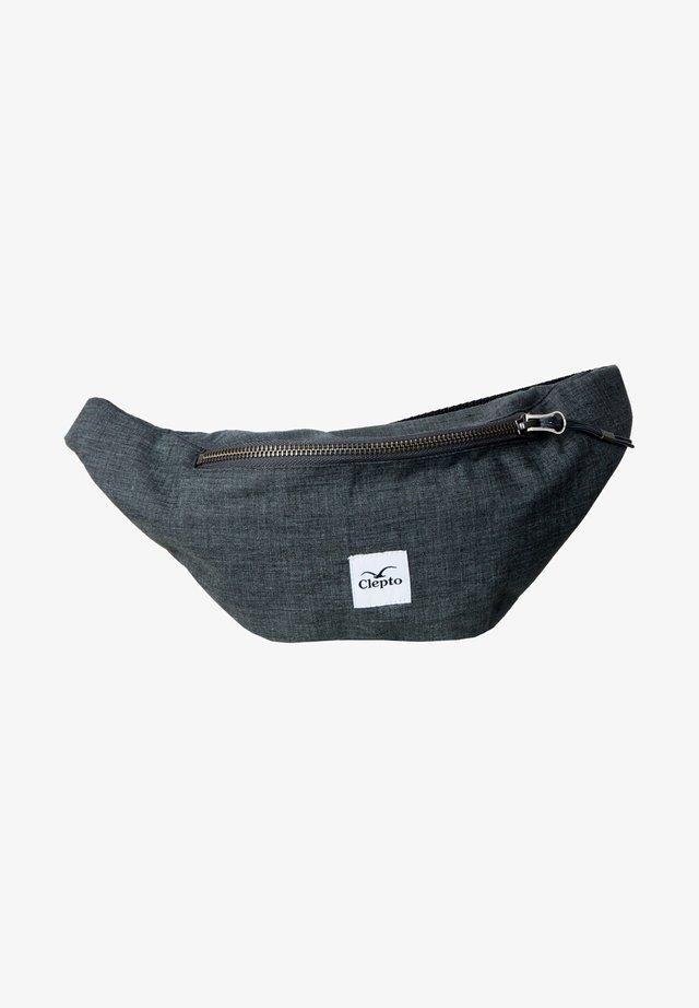 Bum bag - heather dark grey