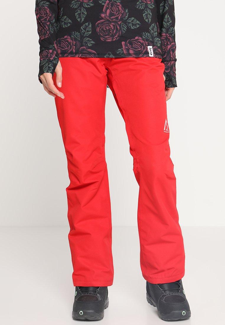 Wearcolour - CORK PANT - Pantalón de nieve - red
