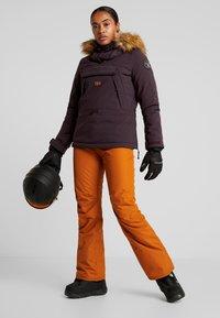 Wearcolour - FINE PANT - Ski- & snowboardbukser - adobe - 1