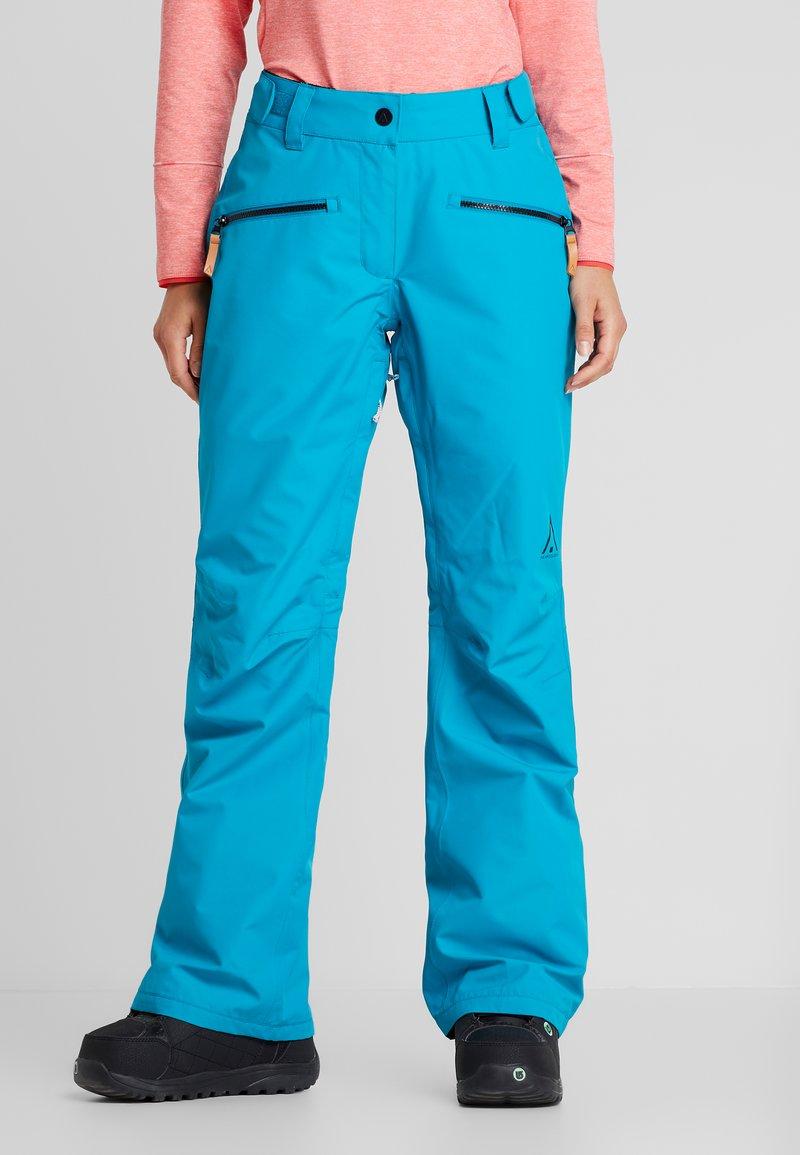 Wearcolour - CORK PANT - Talvihousut - enamel blue
