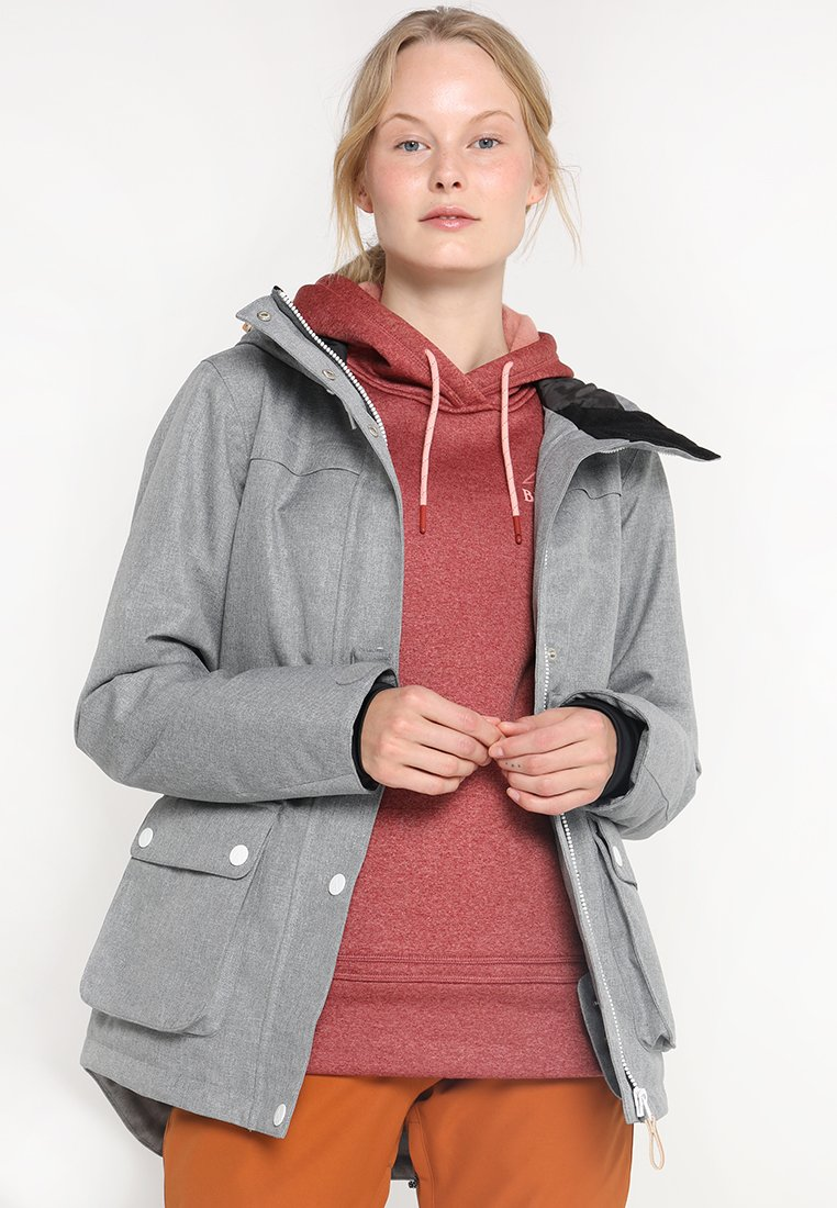 Wearcolour - IDA JACKET - Snowboardjacke - grey melange