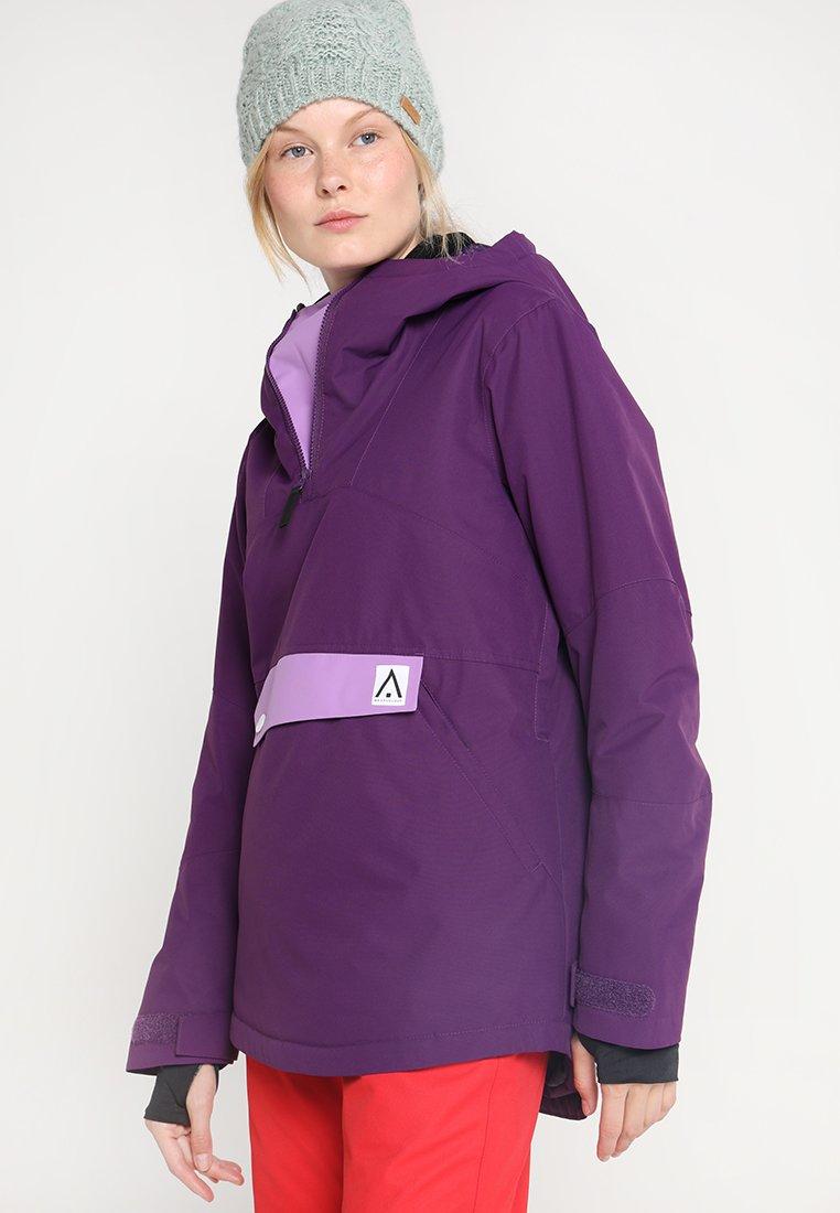 Wearcolour - HOMAGE ANORAK - Snowboard jacket - grape