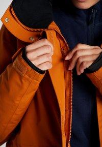 Wearcolour - STATE PARKA - Snowboard jacket - orange - 4