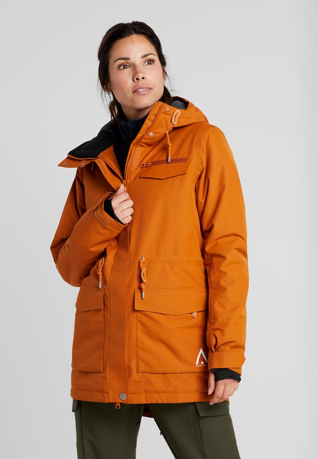 STATE PARKA - Snowboard jacket - orange