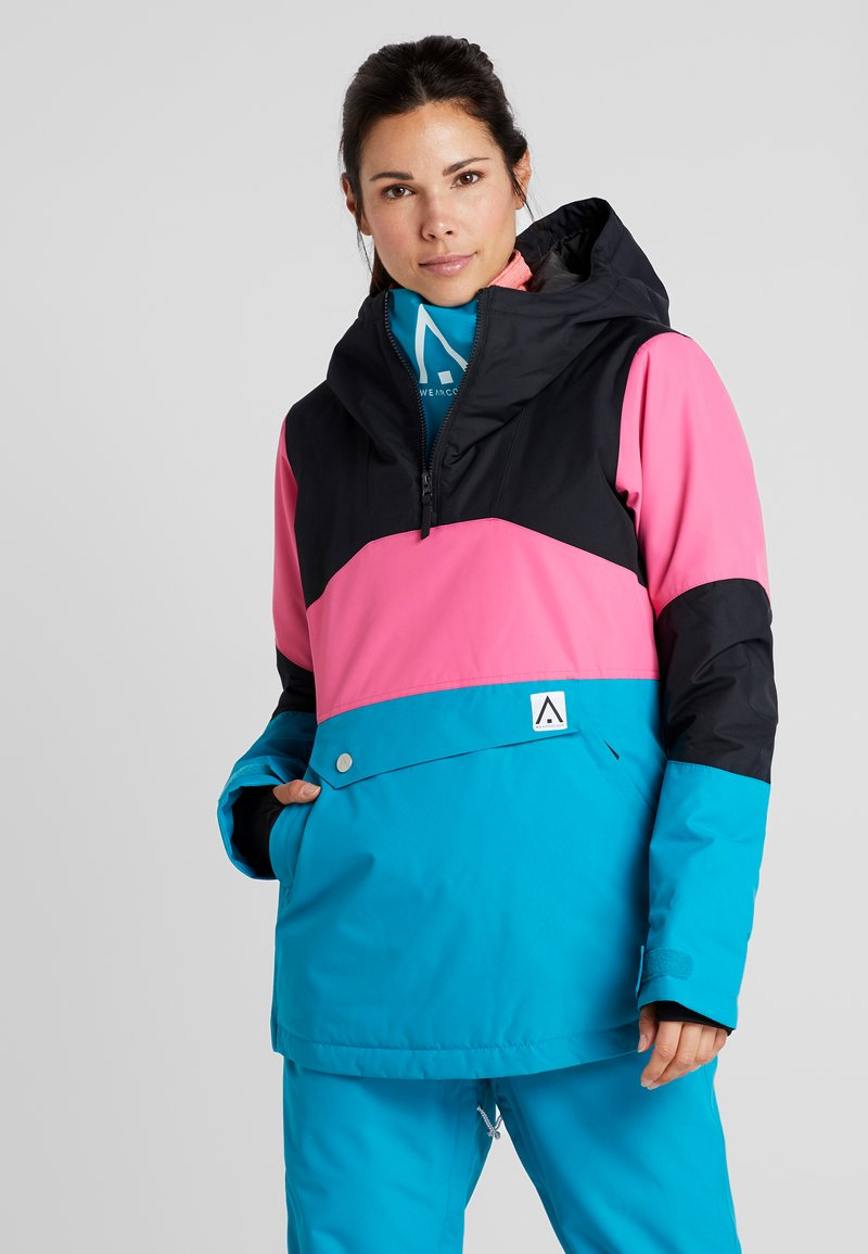 Wearcolour - HOMAGE ANORAK - Snowboardjas - enamel blue