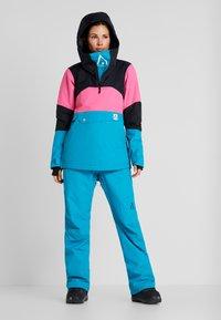 Wearcolour - HOMAGE ANORAK - Snowboardjas - enamel blue - 1