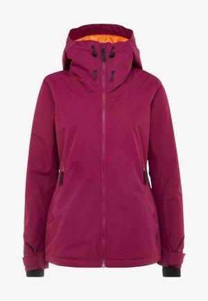 CAKE JACKET - Snowboard jacket - tibetan red