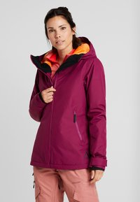 Wearcolour - CAKE JACKET - Snowboard jacket - tibetan red - 0