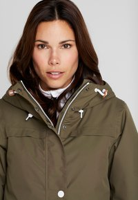 Wearcolour - IDA JACKET - Snowboardjacka - mud - 3