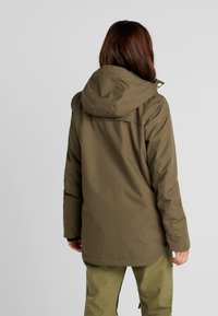 Wearcolour - IDA JACKET - Snowboardjacka - mud - 2