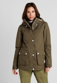 Wearcolour - IDA JACKET - Snowboardjacka - mud - 0