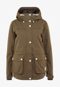Wearcolour - IDA JACKET - Snowboardjacka - mud - 7