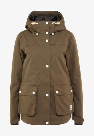 IDA JACKET - Snowboard jacket - mud
