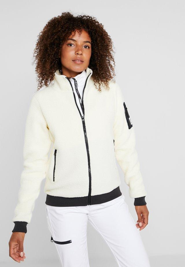 BOOM JACKET - Fleecová bunda - vanilla