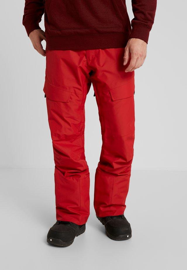 TILT PANT - Pantaloni da neve - falu red