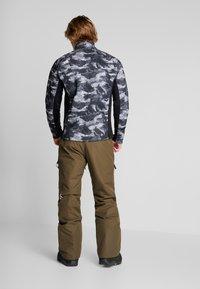 Wearcolour - TILT PANT - Talvihousut - mud - 2