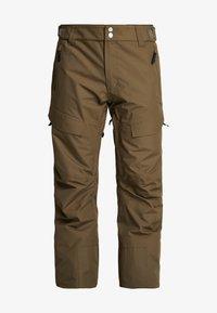 Wearcolour - TILT PANT - Talvihousut - mud - 5