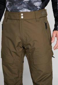 Wearcolour - TILT PANT - Talvihousut - mud - 3