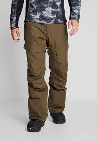 Wearcolour - TILT PANT - Talvihousut - mud - 0