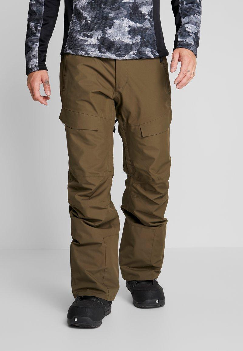 Wearcolour - TILT PANT - Talvihousut - mud