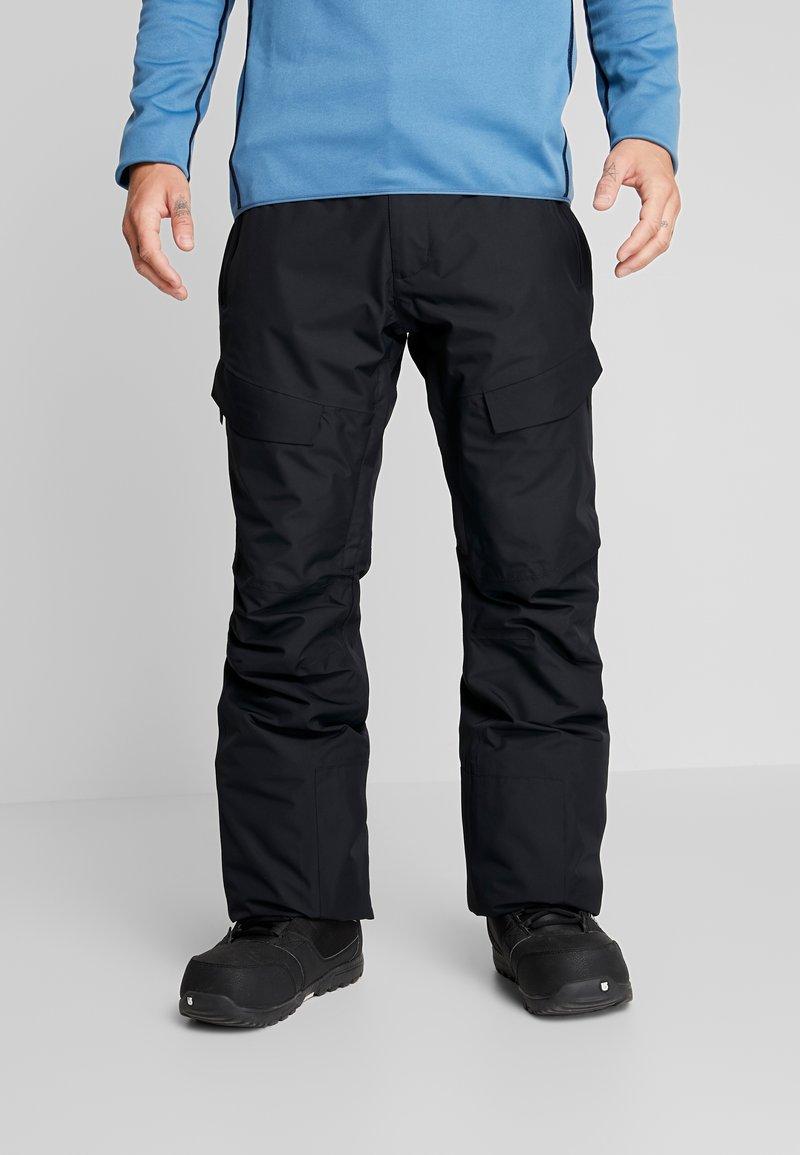 Wearcolour - TILT PANT - Talvihousut - black