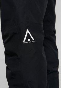 Wearcolour - TILT PANT - Pantalon de ski - black - 6