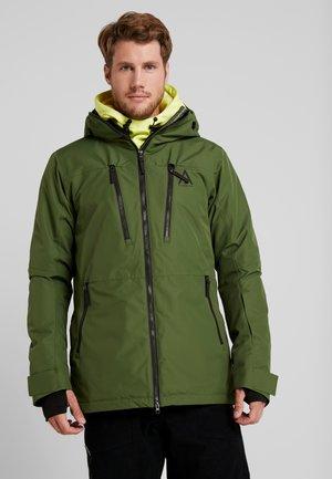 GRID JACKET - Snowboardjas - olive
