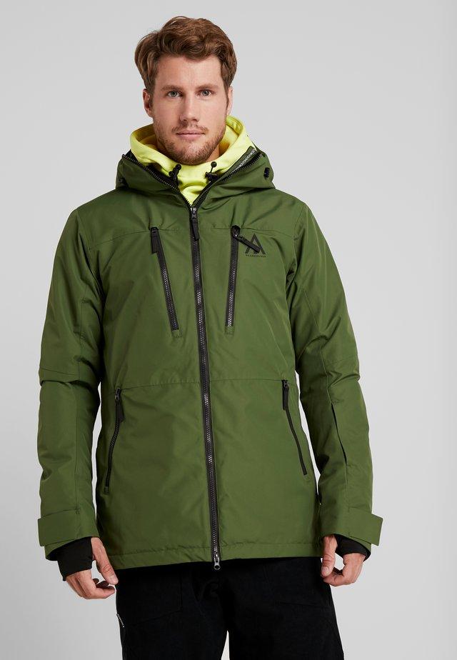 GRID JACKET - Snowboard jacket - olive