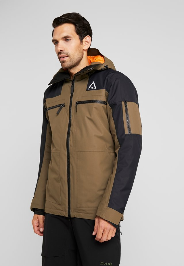 FRAME JACKET - Snowboard jacket - mud