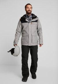 Wearcolour - ROAM JACKET - Snowboardjacka - grey melange - 1