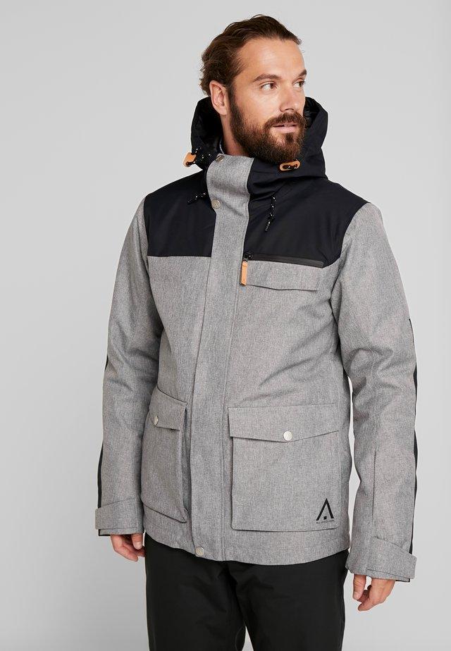 ROAM JACKET - Giacca da snowboard - grey melange