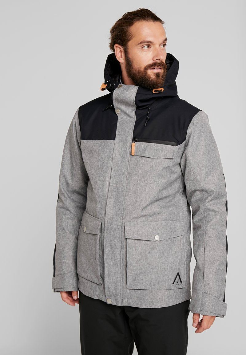 Wearcolour - ROAM JACKET - Snowboardjacka - grey melange