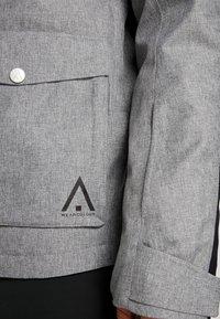 Wearcolour - ROAM JACKET - Snowboardjacka - grey melange - 7