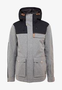 Wearcolour - ROAM JACKET - Snowboardjacka - grey melange - 6