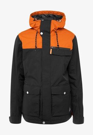 ROAM JACKET - Snowboardjas - black