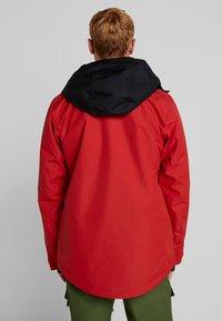Wearcolour - BLOCK JACKET - Snowboardjas - falu red - 2