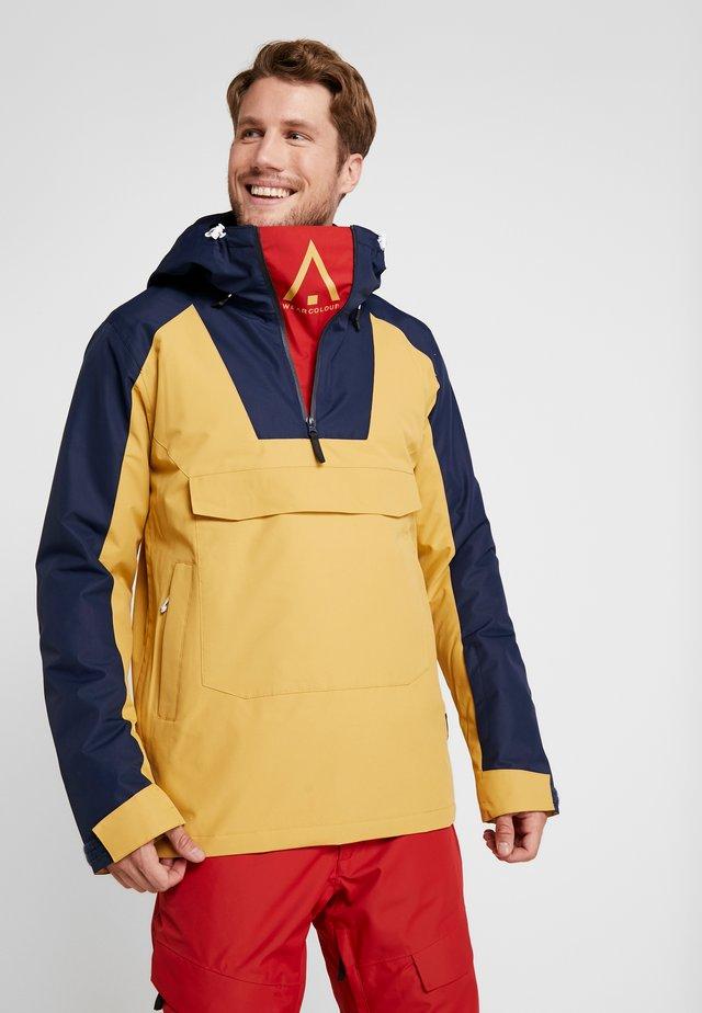 ANORAK - Snowboardová bunda - sand