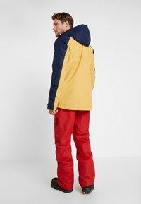 Wearcolour - ANORAK - Snowboardová bunda - sand - 2
