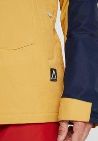Wearcolour - ANORAK - Snowboardová bunda - sand - 5