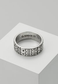 Classics77 - AZTECA BAND - Ring - silver-coloured - 0