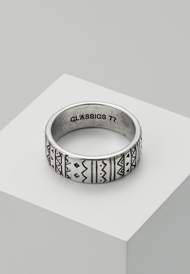 Classics77 - AZTECA BAND - Ring - silver-coloured