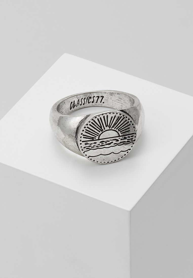 Classics77 - SANTIAGO SIGNET - Bague - silver-coloured