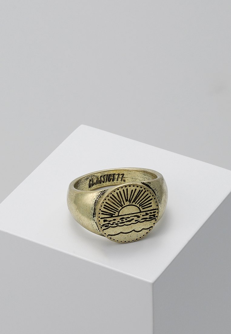 Classics77 - SANTIAGO SIGNET - Bague - gold-coloured