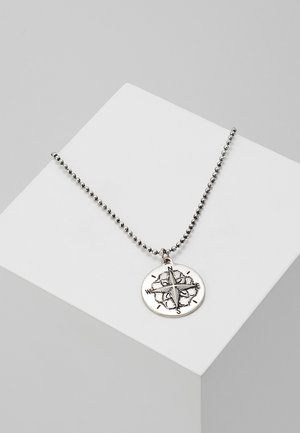 RICA NECKLACE - Naszyjnik - silver-coloured